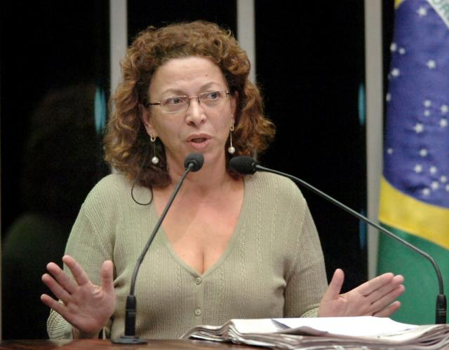 Ministra Ideli Salvatti