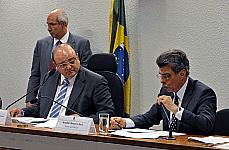 O texto apresentado pelo relator Romero Jucá foi aprovado com modificação relativa à fiscalização.