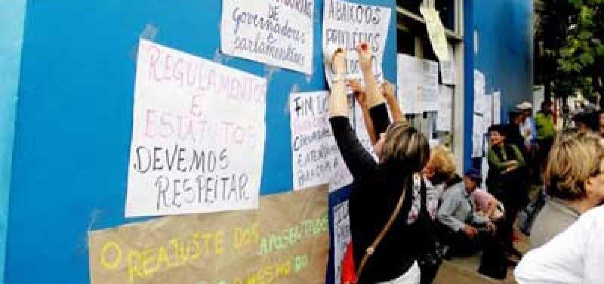 Protestos em São Luiz Gonzaga/RS