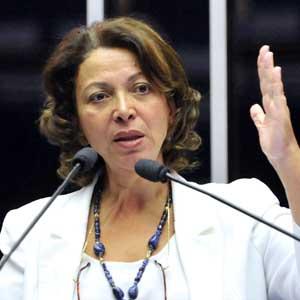 Ideli Salvatti - Ministra das Relações Institucionais