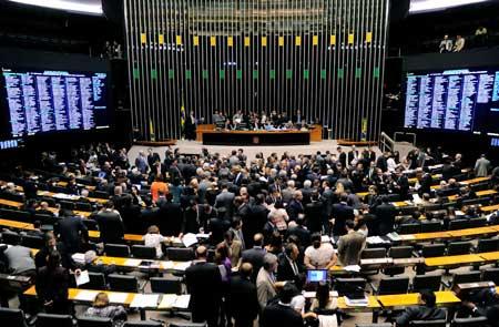 congresso nacional plenario brasilia deputados senadores