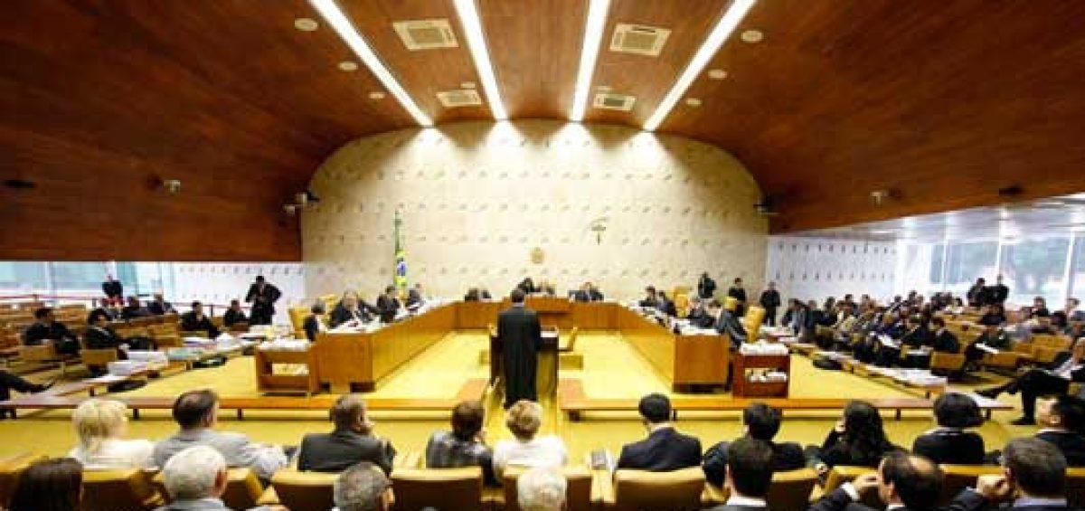 Plenário do Supremo Tribunal Federal - STF em sessão