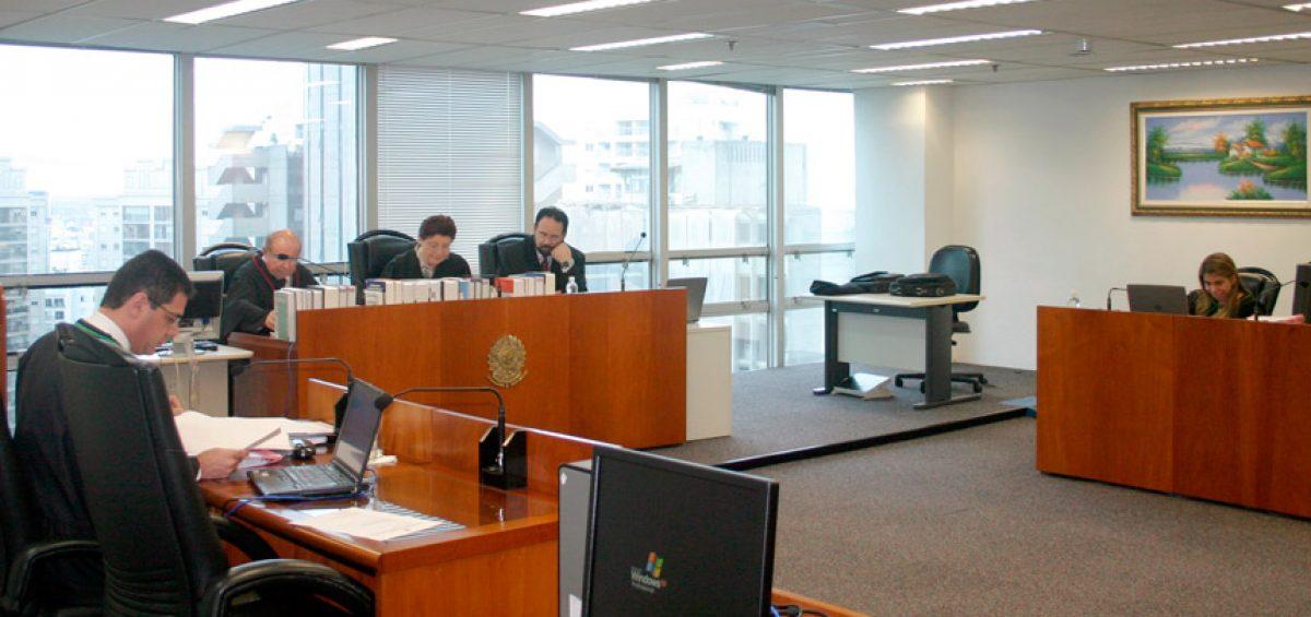 Sessão no Tribunal Regional Federal da 3ª Região - TRF3