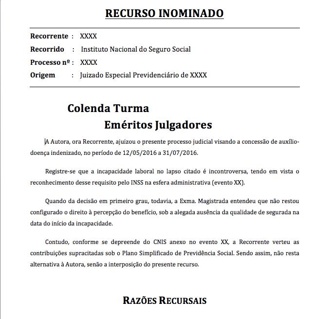 Recurso Inominado – Auxílio-doença indenizado – Qualidade de segurado – Microempreendedor individual – Lei Complementar 123