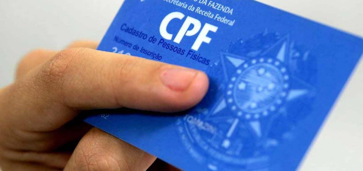 CPF passa a ser aceito como documento único em todo país